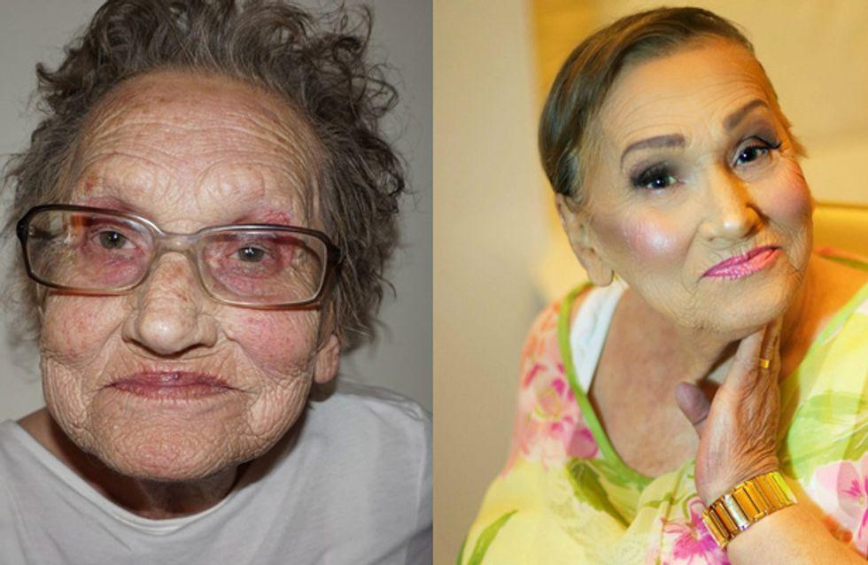 Das ist Glam-Ma! Die Vorher-Nachher-Bilder der 80-Jährigen werden dich umhauen
