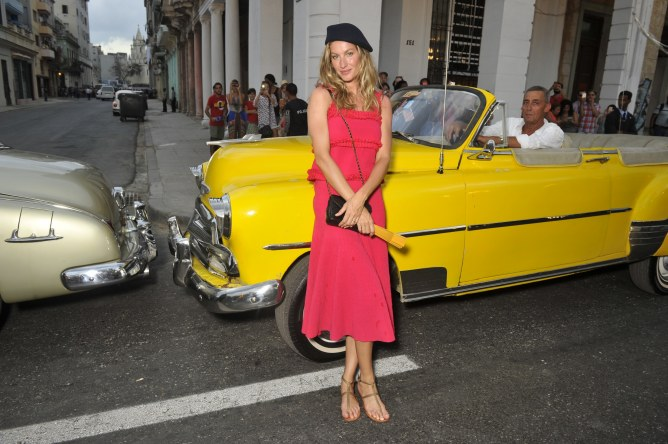 Gisele Bündchen au défilé Croisière Chanel à La Havane