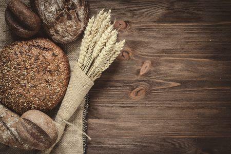 Diferentes tipos de pan integral