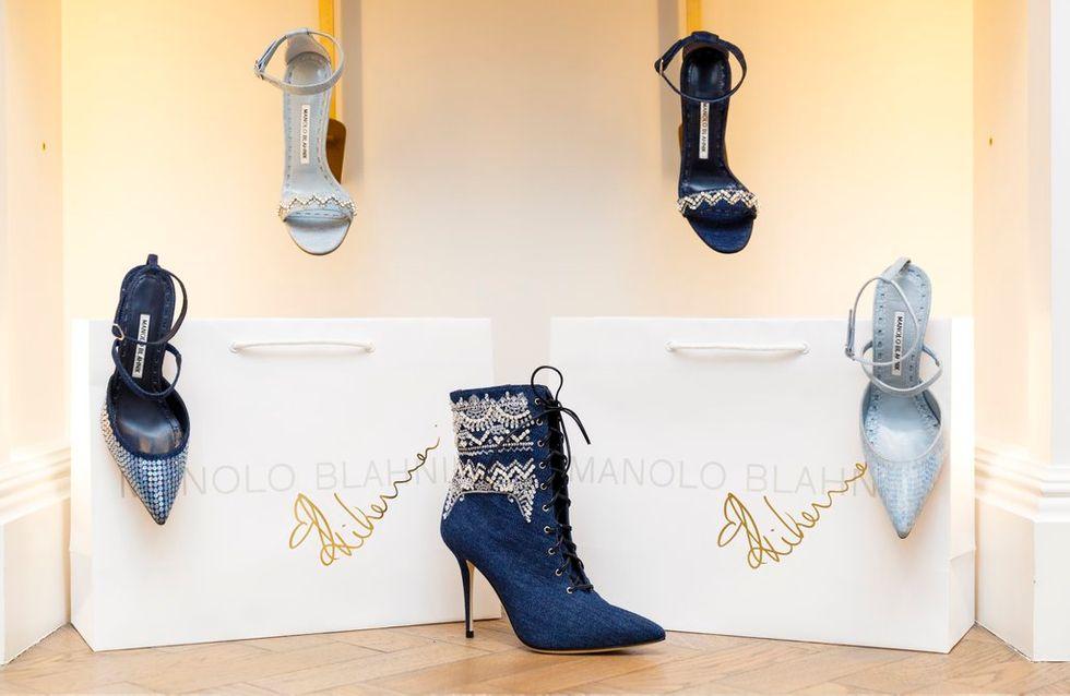 La collection Rihanna x Manolo Blahnik, un succès auprès des stars
