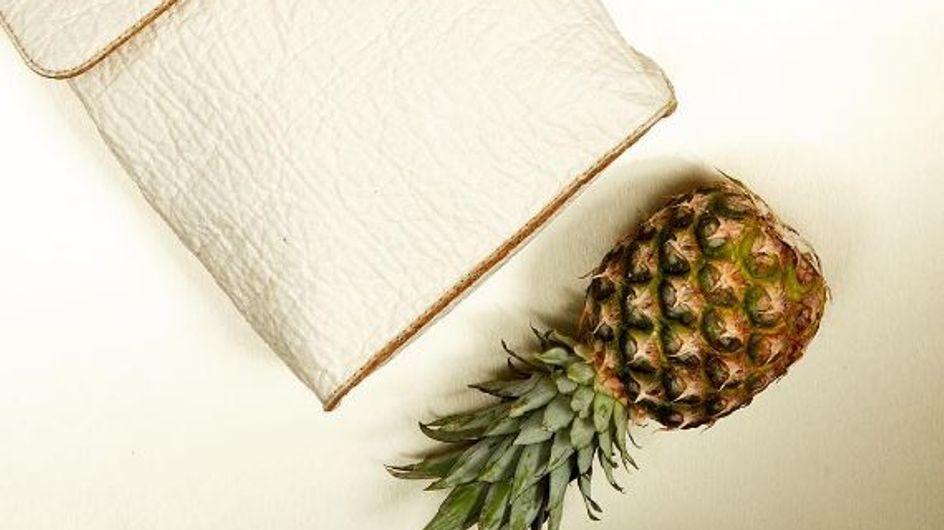 Du cuir à base d'ananas, c'est quand même mieux que de massacrer des animaux