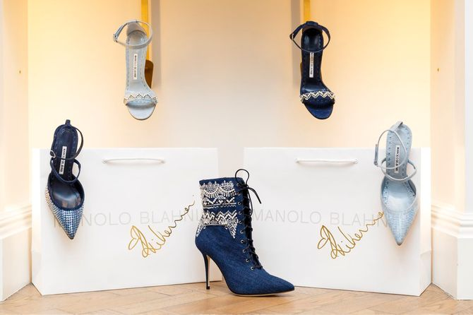 Collection Rihanna x Manolo Blahnik