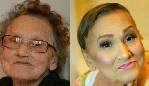 Glam ma - before and after