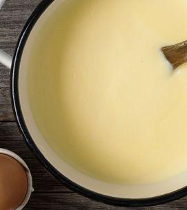 La crema inglesa, el toque british que necesitan tus postres
