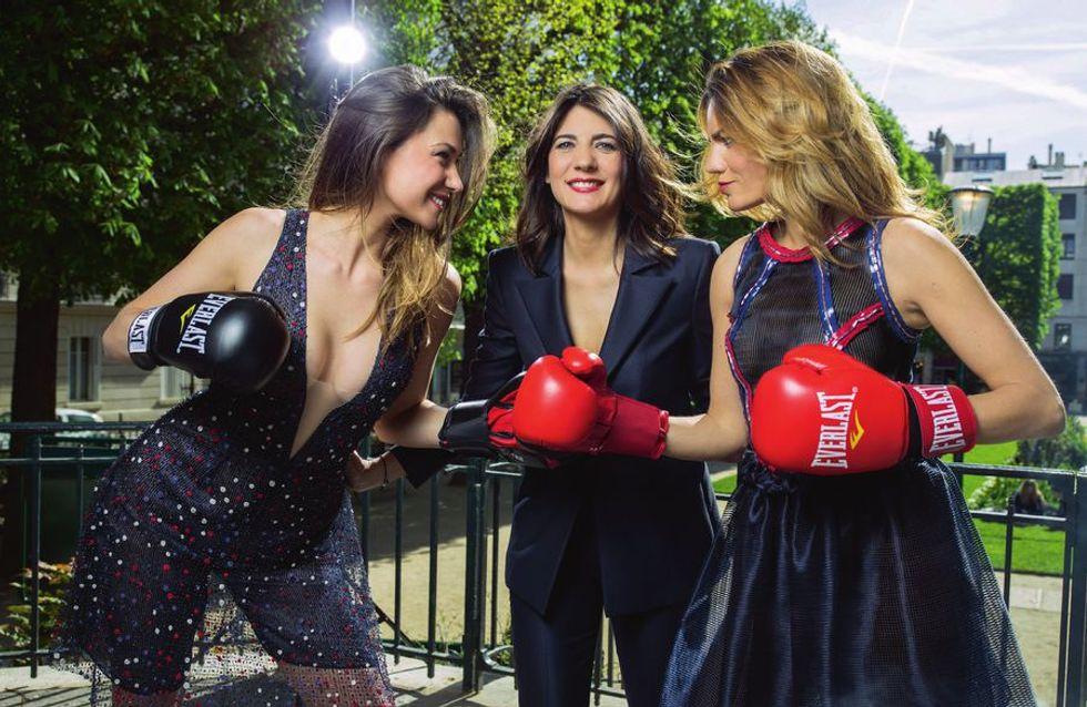 Talons hauts, brushing et robe de soirée... La journaliste sportive vue par Paris Match fait polémique