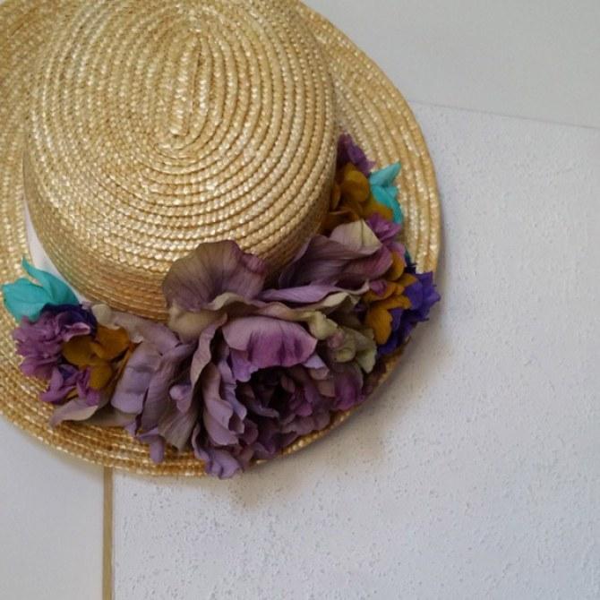 Sombrero peonias
