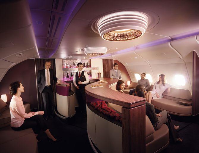 Le confort de Qatar Airways en images