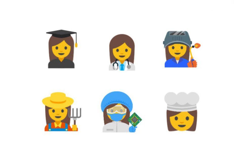 Emojis de mujeres para reivindicar la igualdad: ¡así podrían ser los nuevos iconos de Whatsapp!