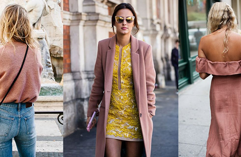 On Wednesdays, We Wear... Blush Pink! How To Style Autumn's Sassiest Shade