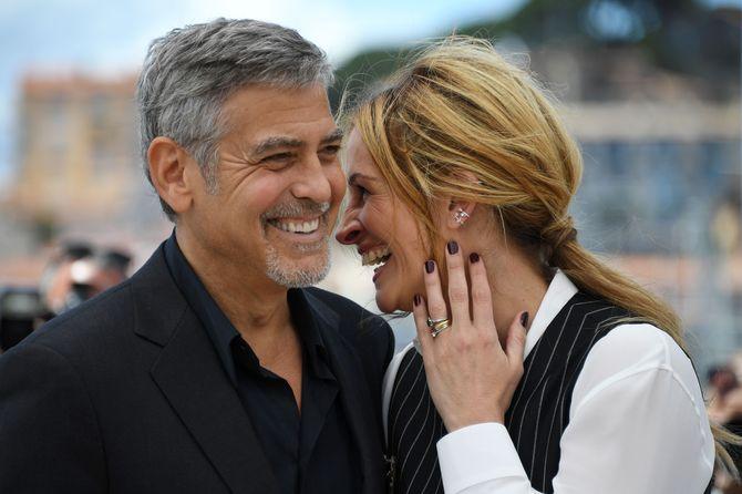 George Clooney et Julia Roberts à Cannes