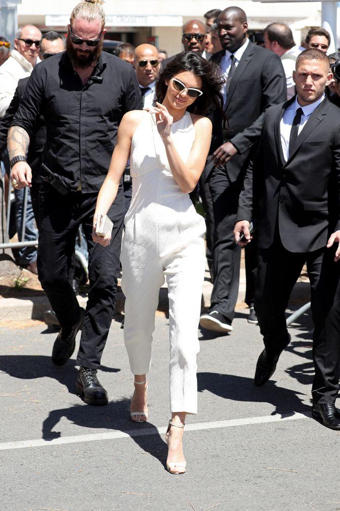 Kendall Jenner le 12 mai 2016 à Cannes