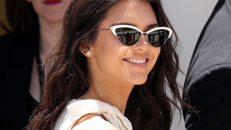 Kendall Jenner éblouit la Croisette en total look blanc maitrisé