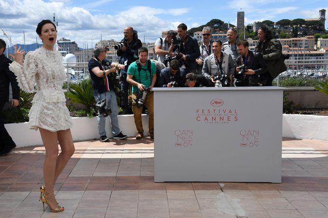 Caitriona Balfe à Cannes