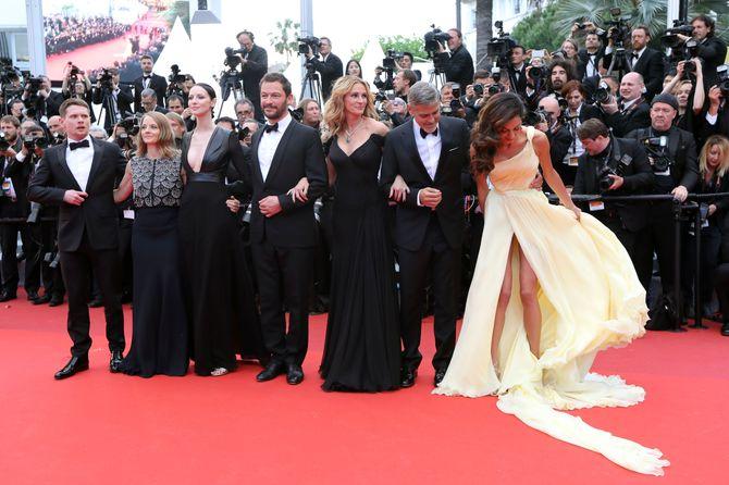 Amal et George Clooney ensemble