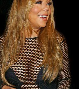 La red de chirimoya de Mariah Carey, peor look de la semana