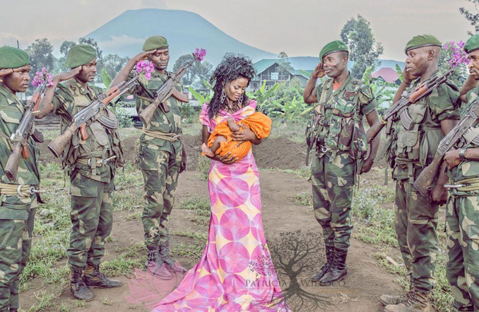 Esta fotógrafa lucha contra el estigma de las mujeres congoleñas violadas en la guerra