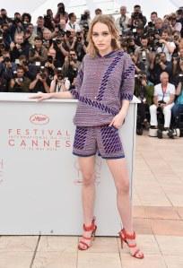 Lily-Rose Depp au Festival de Cannes le 13 mai 2016
