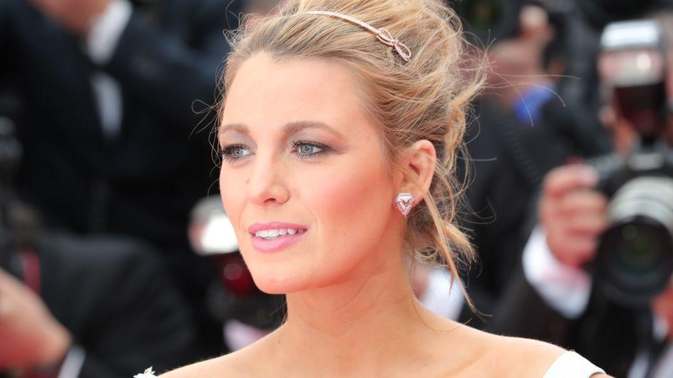 Blake Lively, un beautylook façon Cendrillon à Cannes