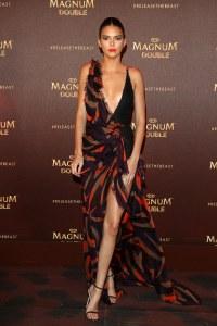Kendall Jenner lors de la soirée Magnum Double du 12 mai 2016 dans le cadre du Festival de Cannes