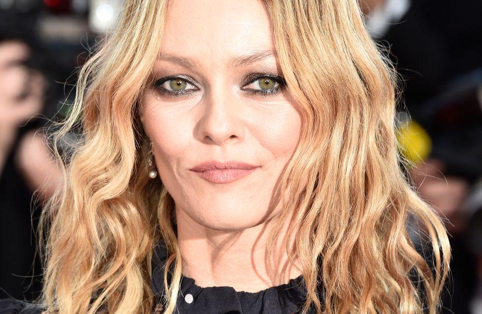 Vanessa Paradis et son beautylook rock à Cannes