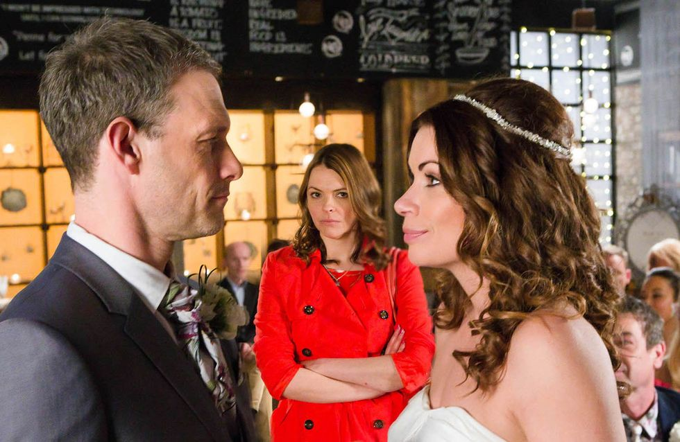 Coronation Street 24/5 - Will Tracy be able to stop the wedding?
