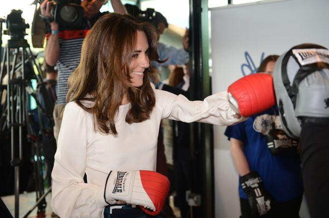 Kate Middleton lors du lancement de Heads Together à Londres le 16 mai 2016