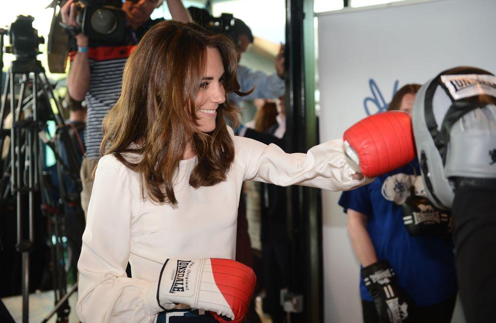 Kate Middleton se met à la boxe pour la bonne cause