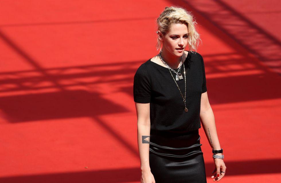 Kristen Stewart monte les marches avec son ex (Photos)