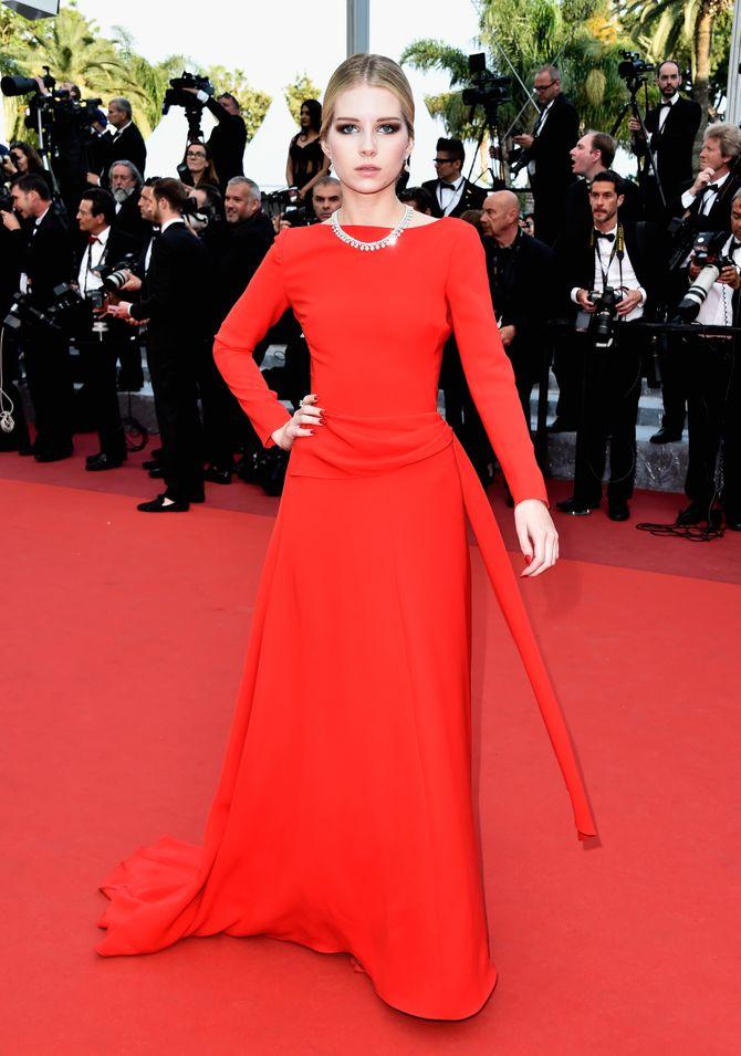 Lottie Moss le 16 mai 2016 à Cannes