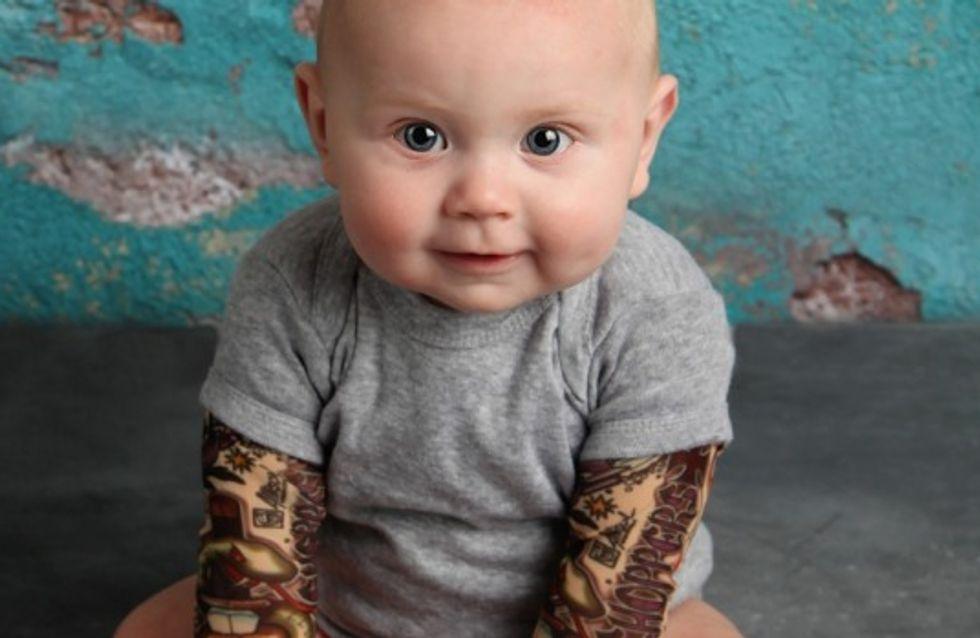 Tendance WTF : des bodys tatoués pour les bébés
