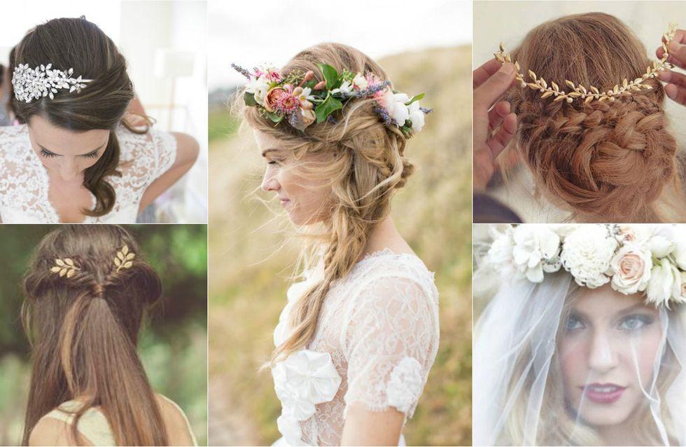 15 coiffures parfaites pour un mariage repérées sur Pinterest