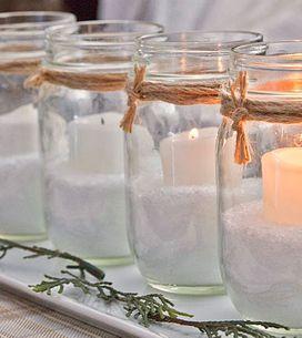 ¡Que se haga la luz! Ideas fáciles y creativas para decorar con velas