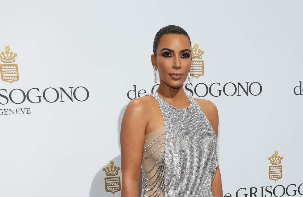 Avec cette robe, personne ne pouvait louper Kim Kardashian à Cannes