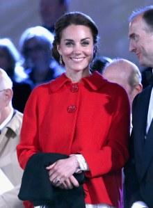 Kate Middleton, lors de l'anniversaire de la reine Elizabeth