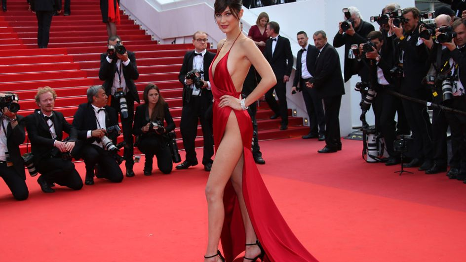 Bella Hadid pierde las braguitas en Cannes