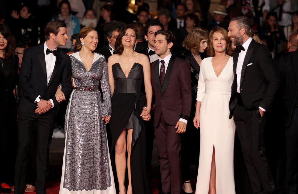 Marion Cotillard, Vincent Cassel… Le casting du film de Xavier Dolan illumine la Croisette (Photos)