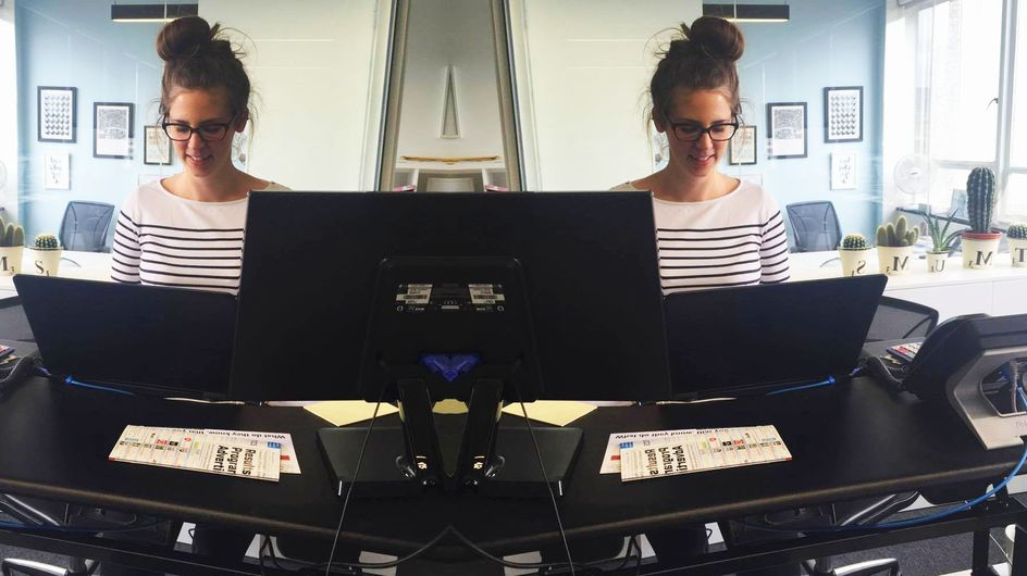 We Got Ourselves A Stand Up Desk, Here's Why You Should Too