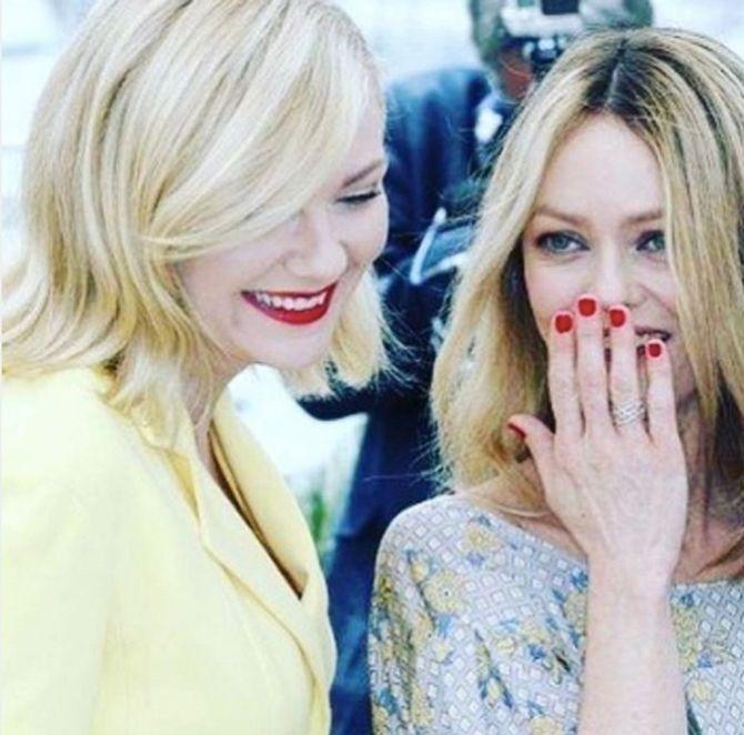 Kirsten Dunst et Vanessa Paradis