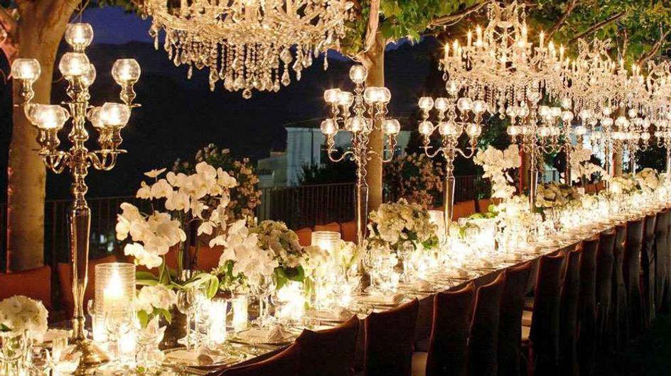 Ideas para decorar las mesas del banquete de la boda