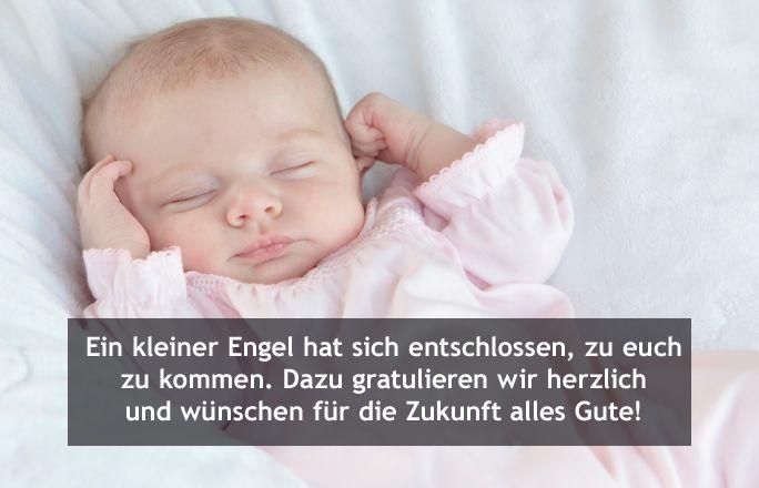 Wünsche baby Glückwünsche zur
