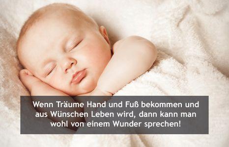 Die Schönsten Glückwünsche Zitate Zur Geburt