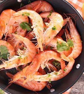 Gambas y langostinos, un tesoro con sabor a mar