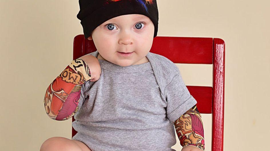 ¿Tatuajes para bebés? Ahora es posible (y legal)
