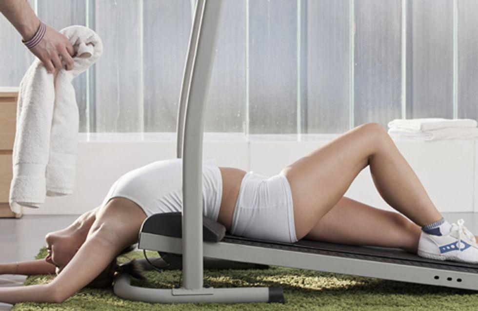 Von total motiviert bis völlig erschöpft: Phasen, die man im Fitnessstudio durchmacht
