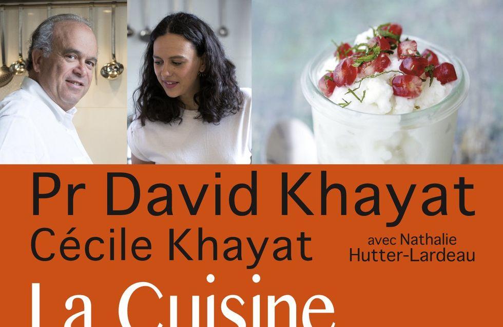 """Avec """"La Cuisine anticancer"""", le Pr Khayat livre ses conseils pour mieux manger"""