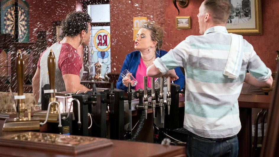 Coronation Street 3/6 - It's a party and Sarah will cry if she wants to