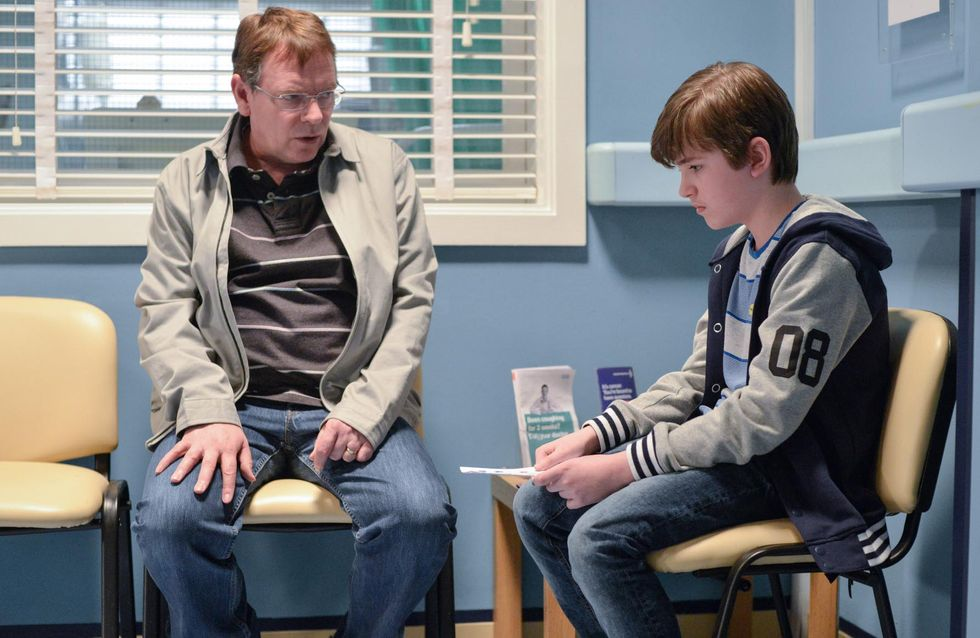 Eastenders 30/5 - Linda is less than pleased by Bobby's appearance