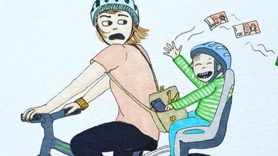 El lado más divertido (y real) de la maternidad contado en ilustraciones
