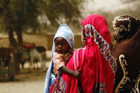 Des Soudanaises