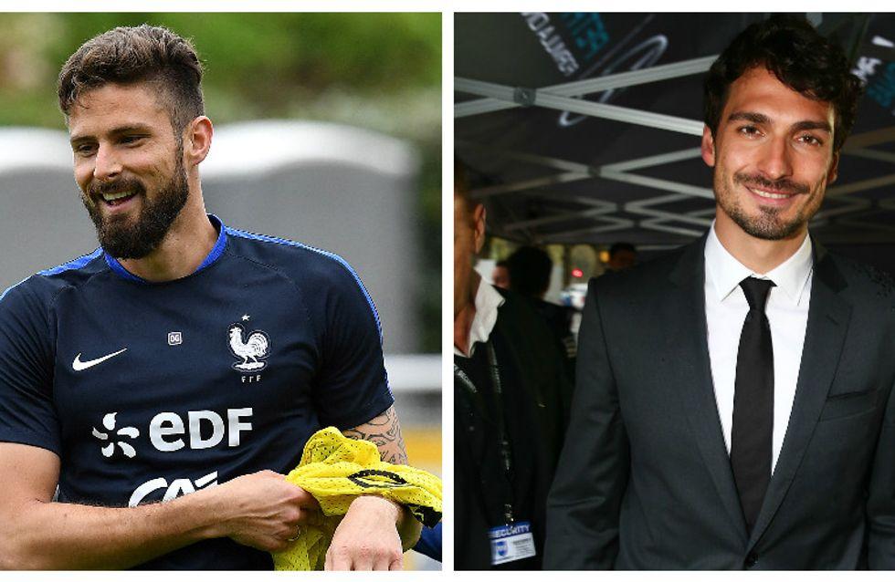 Top des footballeurs les plus sexy qui vont vous faire aimer l'Euro (Photos)